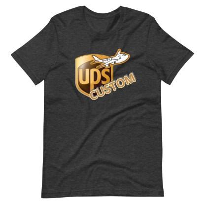 airplaneTees CUSTOM UPS Guy/Gal/Dad/Mom Tee Short-Sleeve Unisex 8