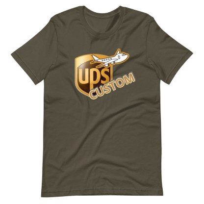 airplaneTees CUSTOM UPS Guy/Gal/Dad/Mom Tee Short-Sleeve Unisex 6