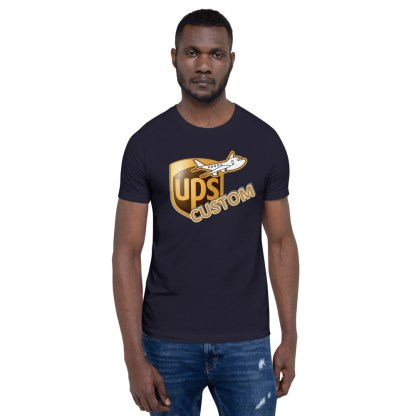 airplaneTees CUSTOM UPS Guy/Gal/Dad/Mom Tee Short-Sleeve Unisex 2