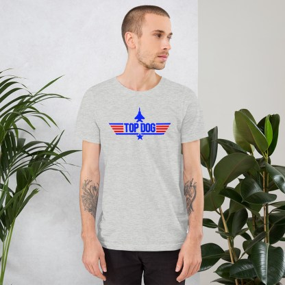 airplaneTees Top Dog tee... Short-Sleeve Unisex 7