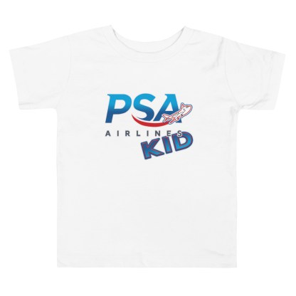 airplaneTees PSA Airlines Kid toddler tee... Short Sleeve 4