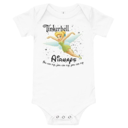 airplaneTees Tinkerbell Airways Onesie 3