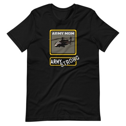 airplaneTees PERSONALIZE IT - Army Strong Tee, Army Mom, Dad, Rank, Class you name it. Short-Sleeve Unisex T-Shirt 5