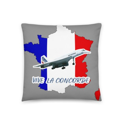 airplaneTees Vive La Concorde Pillow 5