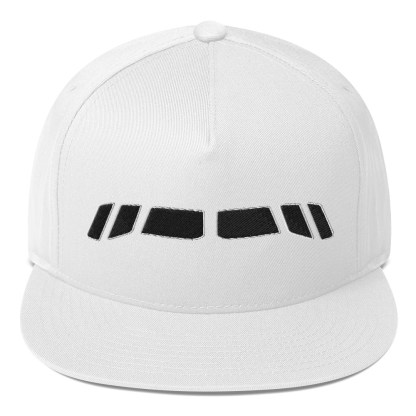 airplaneTees Boeing 767 Cockpit windows Cap... Flat Bill 3