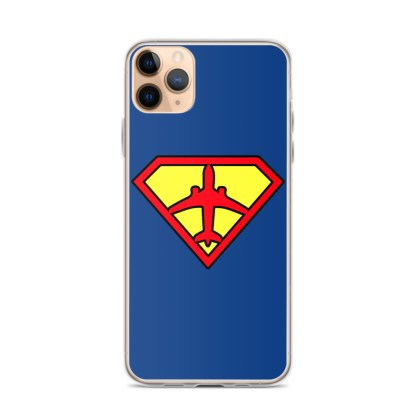 airplaneTees Superpilot iPhone Case 1