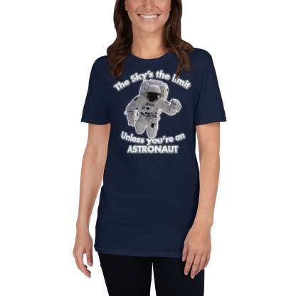 airplaneTees The Sky's the limit tee - Option 2... Short-Sleeve Unisex 3