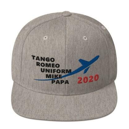 airplaneTees TRUMP 2020 Hat- Black... Snapback Hat 4
