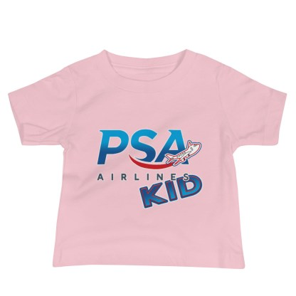 airplaneTees PSA Airlines Kid Infant Tee... Baby Jersey Short Sleeve 1