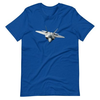 airplaneTees F22 Front View... Short-Sleeve Unisex T-Shirt 13
