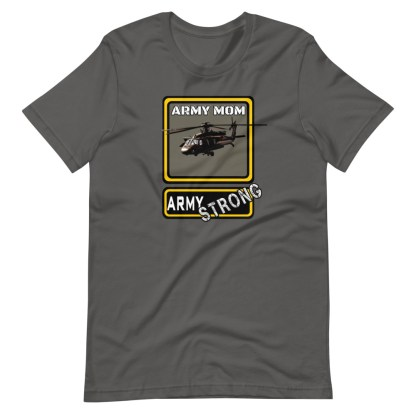 airplaneTees PERSONALIZE IT - Army Strong Tee, Army Mom, Dad, Rank, Class you name it. Short-Sleeve Unisex T-Shirt 9