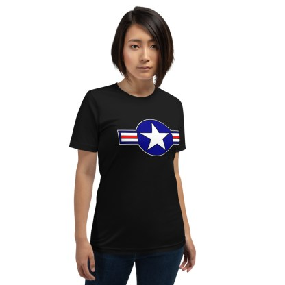 airplaneTees Roundel US Armed Forces Tee... Short-Sleeve Unisex 2