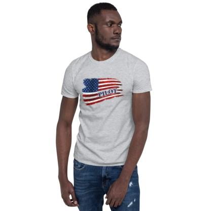 airplaneTees Pilot US Flag Tee... Short-Sleeve Unisex 3