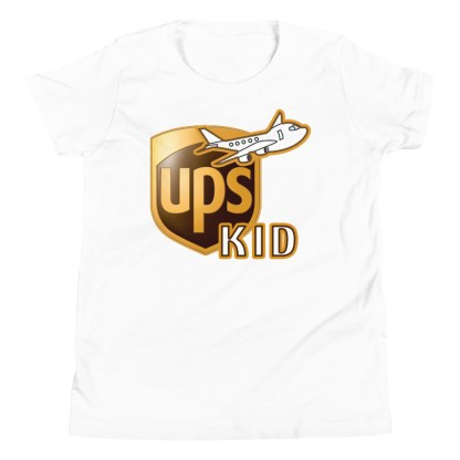 airplaneTees UPS Kid Youth Tee... Short Sleeve T-Shirt 9