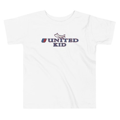 airplaneTees United Kid Toddler Tee... Short Sleeve 3