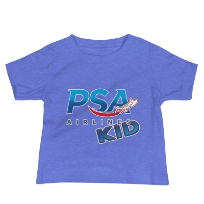 airplaneTees PSA Airlines Kid Infant Tee... Baby Jersey Short Sleeve 6