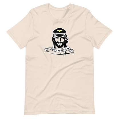 airplaneTees Jesus is my Captain tee... Short-Sleeve Unisex 8