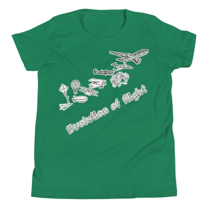 airplaneTees Evolution of Flight Youth Tee... Short Sleeve 7