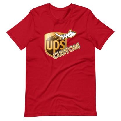 airplaneTees CUSTOM UPS Guy/Gal/Dad/Mom Tee Short-Sleeve Unisex 14