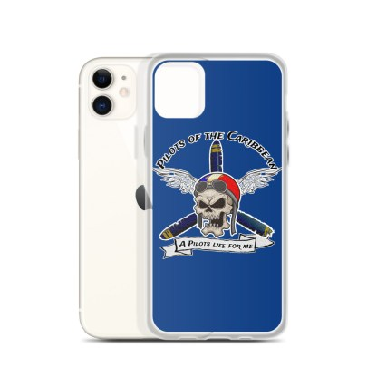 airplaneTees Pilots of the Caribbean iPhone Case 3