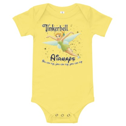 airplaneTees Tinkerbell Airways Onesie 5