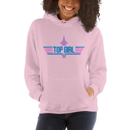 airplaneTees Top Girl Hoodie... Unisex 2