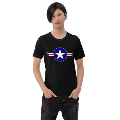 airplaneTees Roundel US Armed Forces Tee... Short-Sleeve Unisex 4