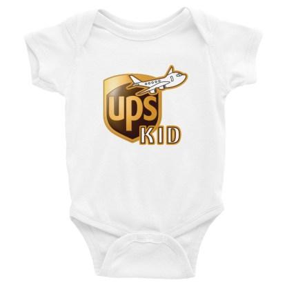 airplaneTees UPS Kid Onesie... Rabbit Skins... Infant Bodysuit 4