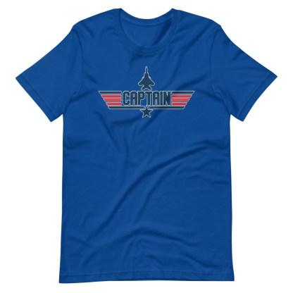 airplaneTees Captain Maverick Style Tee... Short-Sleeve Unisex 12