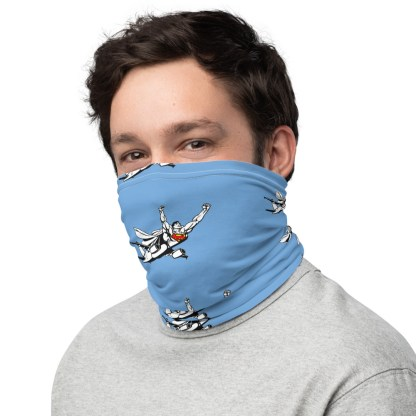 airplaneTees SuperPlane Face Mask/Covering/Neck Gaiter 3