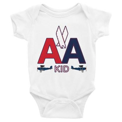 airplaneTees American Kid Onesie Rabbit Skins... Infant Bodysuit 4