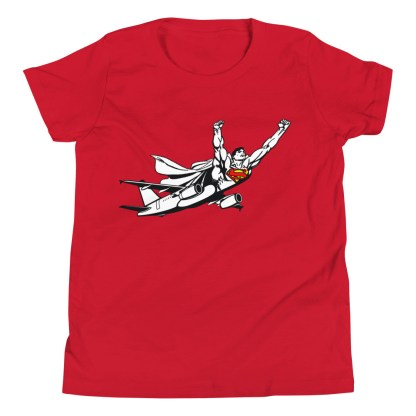 airplaneTees SuperPlane Youth Tee... Short Sleeve 12