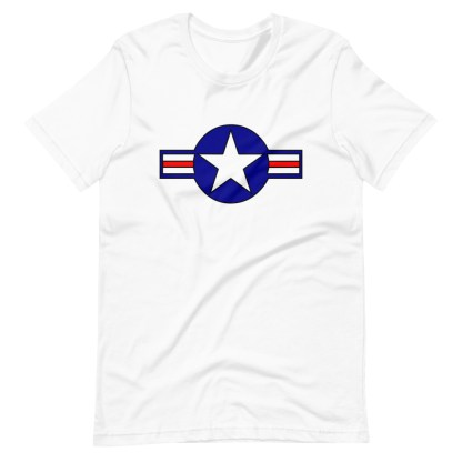 airplaneTees Roundel US Armed Forces Tee... Short-Sleeve Unisex 6