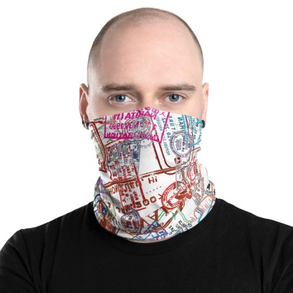 airplaneTees Going Places Face Mask/Face Covering/Neck Gaiter 2