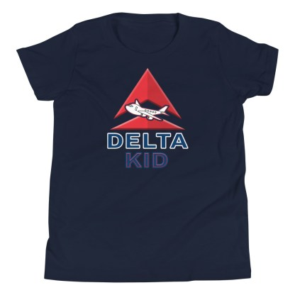 airplaneTees Delta Kid Youth Tee... Short Sleeve 4