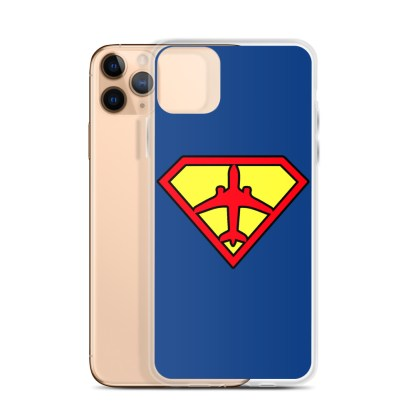 airplaneTees Superpilot iPhone Case 6