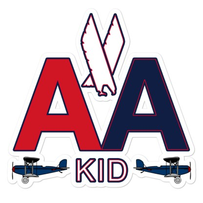 airplaneTees AA Kid Stickers... Bubble-free 1
