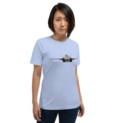 airplaneTees F35 Front View... Short-Sleeve Unisex T-Shirt 5