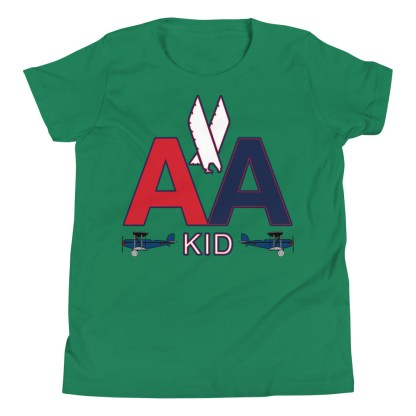 airplaneTees American Kid Youth Tee... Short Sleeve 7