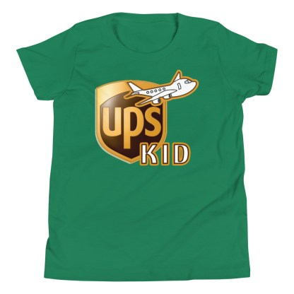 airplaneTees UPS Kid Youth Tee... Short Sleeve T-Shirt 7