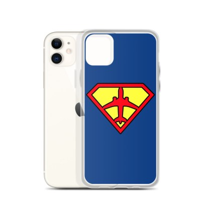 airplaneTees Superpilot iPhone Case 3