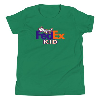 airplaneTees FedEx Kid Youth Tee... Short Sleeve T-Shirt 3