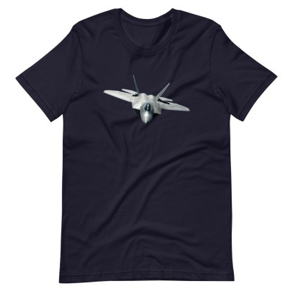 airplaneTees F22 Front View... Short-Sleeve Unisex T-Shirt 10