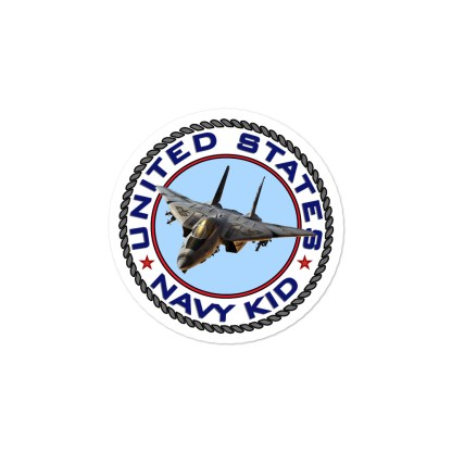 airplaneTees US Navy Kid Stickers... Bubble-free 4