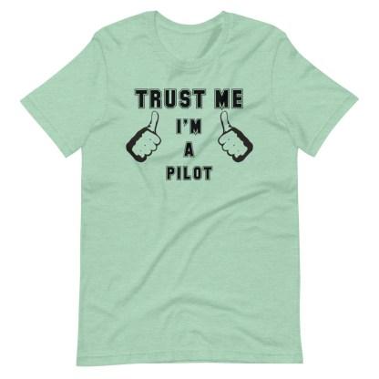 airplaneTees Trust me Im a pilot tee... Short-Sleeve Unisex 7