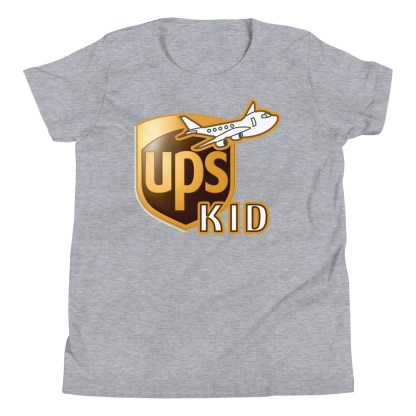 airplaneTees UPS Kid Youth Tee... Short Sleeve T-Shirt 1