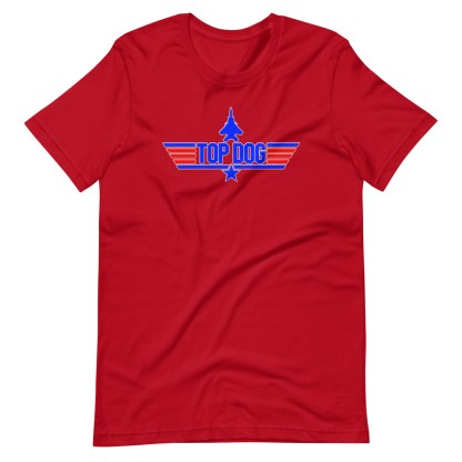 airplaneTees Top Dog tee... Short-Sleeve Unisex 15