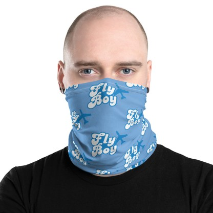 airplaneTees Fly Boy Face Mask/Face Covering/Neck Gaiter 1
