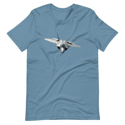 airplaneTees F22 Front View... Short-Sleeve Unisex T-Shirt 11