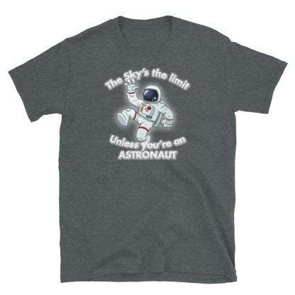 airplaneTees The Sky's the limit tee - Option 1... Short-Sleeve Unisex 8
